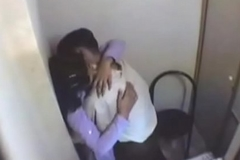 indian girl having fun with will not hear of boyfriend in internet cafe