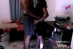 Shilpa Bhabhi Hardcore Indian fuck movie Sex With Raghav Fucked On high A Table
