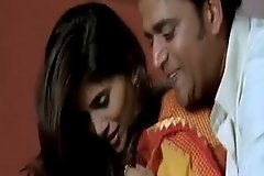 Hot sex Scene Sonali Kulkarni on every side saree with Ravi Kishen