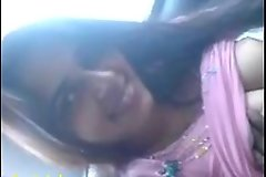 Indian copulation mms of gorgeous girlfriend blowjob everywhere car