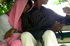 Pak lovers cook jerking and fingering in public