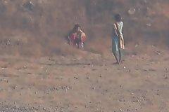 Indian friends nature calls voyeur