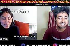Sahara Knite promo podcast with Beard Bird studio on youtube  gonzo video sex youtube sex c/HijabiBhabhi