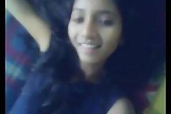 Indian girl shows her superb jet gaping ass MMS