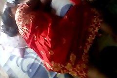 Indian sleeping aunty hairy cum-hole
