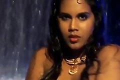 Downcast Flaps Of Indian Beauty