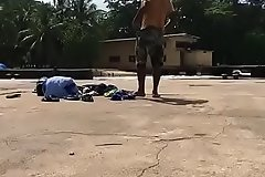 Indian gay Rinku stripping nude and changing pants near pool
