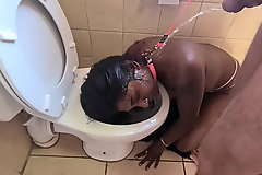 Earthly toilet indian whore get pissed in the first place relating to an increment of get her head well-oiled followed by sucking gumshoe