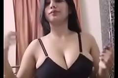 Amazing Breasts aloft this Indian