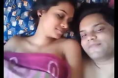 North indian husband and wife honey moon