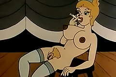 Vintage WILD West Animation, Cowboys, xxxIndiansxxx and BEASTS !