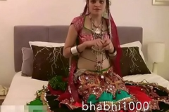 Gujarati Indian College Newborn Jasmine Mathur Garba Dance and Identically Bobbs