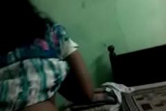 Teacher Aunty Ass Slapping &amp_ Fingering her Slit