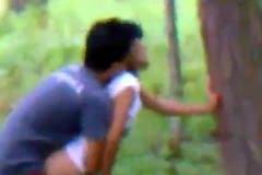Indian college couple hawt Business in jungle