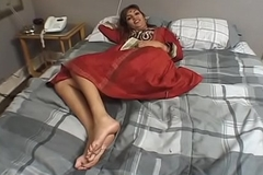 Sex tits Indian venerated acquires pussy slammed hard by two white dong in bed