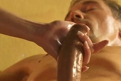 Beautiful Blonde MILF Massage
