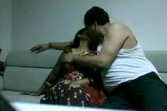 Indian Woman Fucked Apart from A Fat Husband