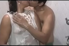 Indian Desi Husband Wife Enjoying in Bathroom