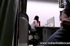 INDIAN Individuals masturbates in assignment infront of his co-worker