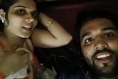 Indian husband and wife hot selfie video