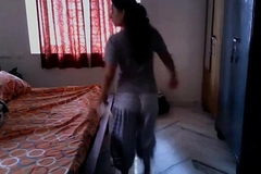 Indian Wife fucked by Upstairs maid