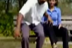 Eighteen Years Student sucking in Park