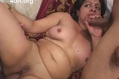 Indian neonate fucked overwrought two dicks