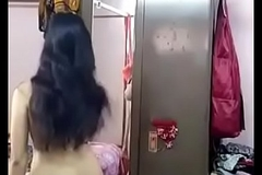 Desi girl removing say no to garments