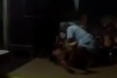 Neighbour tharki buddha bengali houseowner school master fucks maid  in absence of wife with hot shacking up sound unventilated video.MP4