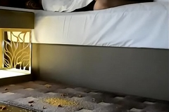 Desi Wife Pankhuri Teases her Ass to Room Cleaning Supplicant roughly Hotel Fun with Hubby