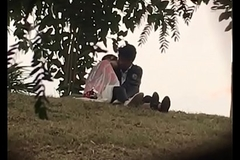 Indian lover kissing with regard to park part 2