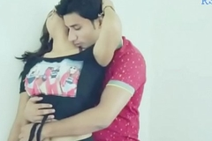 Part 1 - Pooja Hot Amour with Boyfriend at Roof