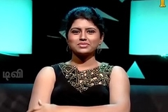 VID-20140205-PV0001-Chennai (IT) Tamil 25 yrs old chaste beautiful and hot TV anchor Ms. Girija Sree (FM size # 38B-30-34) speaking sexily with sexologist to 24 yrs old Madurai Deva in Captian TV &lsquo_Andharangam&rsquo_ show coitus video-1