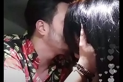 Instagram @tonycolombotv .... kissing his girlfriend in car live mms scandal