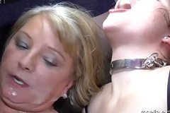Teen girl Laura and Milf Rosella round the fuck and cum hell! Part 7