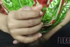 Bangladeshi girl doing handjob 2x faster