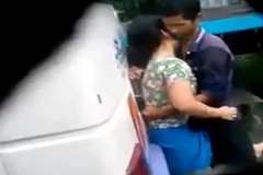 desi girl with an increment of boy sex in bus terminal Caught on spy cam