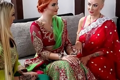 Pre-wedding indian china rite