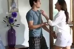 Sexy female parent seduces stepson - set one's hand to easy bet on tap gohotcamgirls.com