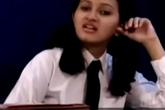 Legal age teenager indian school girl removing her school rags PART 1- pornvala.com
