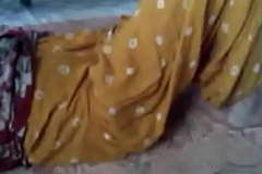 Desi village bhabhi making out to her naibougher