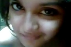 Very uncompromisingly cute girl selfi desi gf