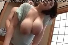 Japanese Beamy TIts Milf Started On the spot By means of Sex In Their way In go kaput of - AmJerking.com