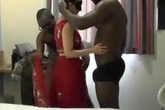Desi hotwife 3some
