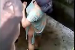 Desi girl glass out nude nice boobs dark-hued wits hidden webcam