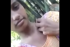 Indian girl show body