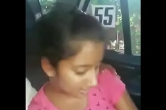Legal age teenager INDIAN SUCKING Dig up IN CAR