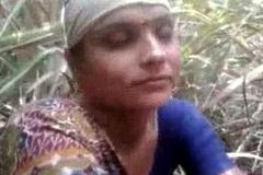 Desi village aunty getting drilled outdoor