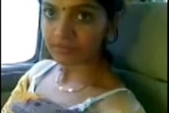 Cute desi bhabhi counterfeit opalescent breast adjacent to motor respecting follower groupie
