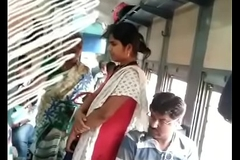 Tamil bird groping in train